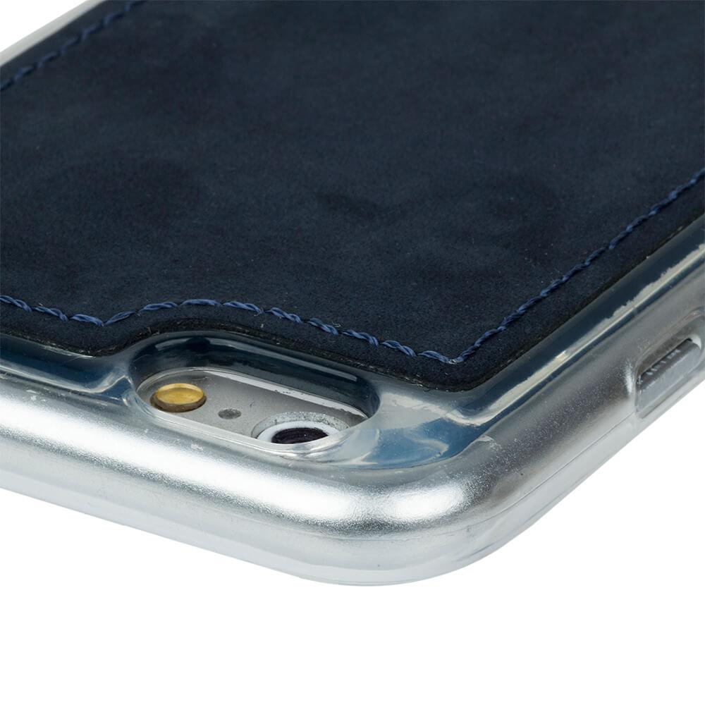 Back case - Nubuck Navy Blue