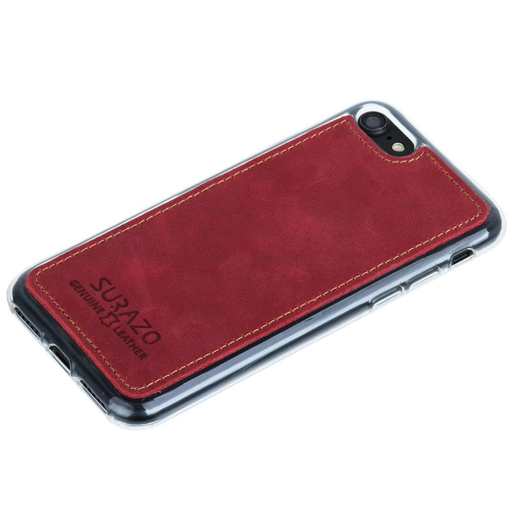 Back case - Nubuck Red