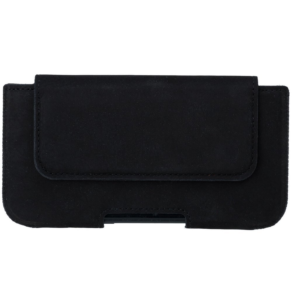 Belt case - Nubuck Black