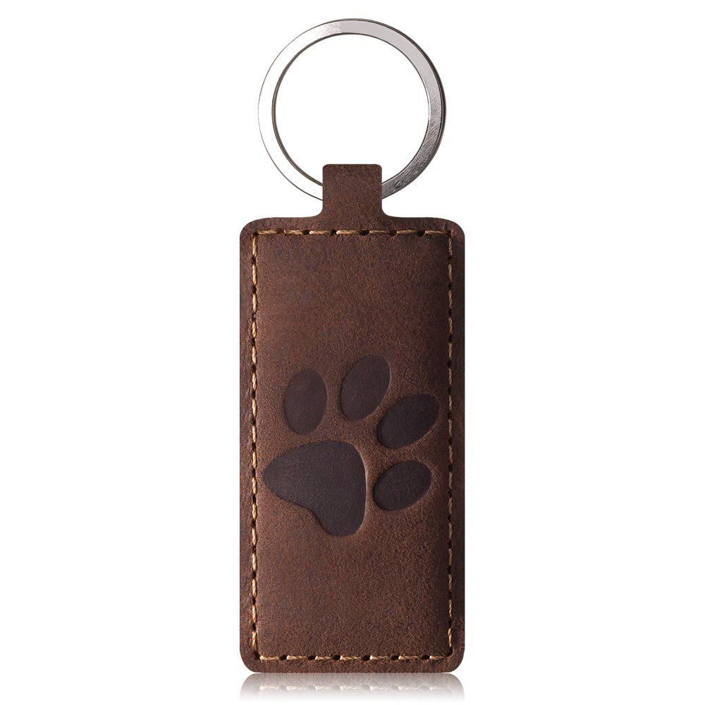 Belt case - Nubuck Nut brown - Paw