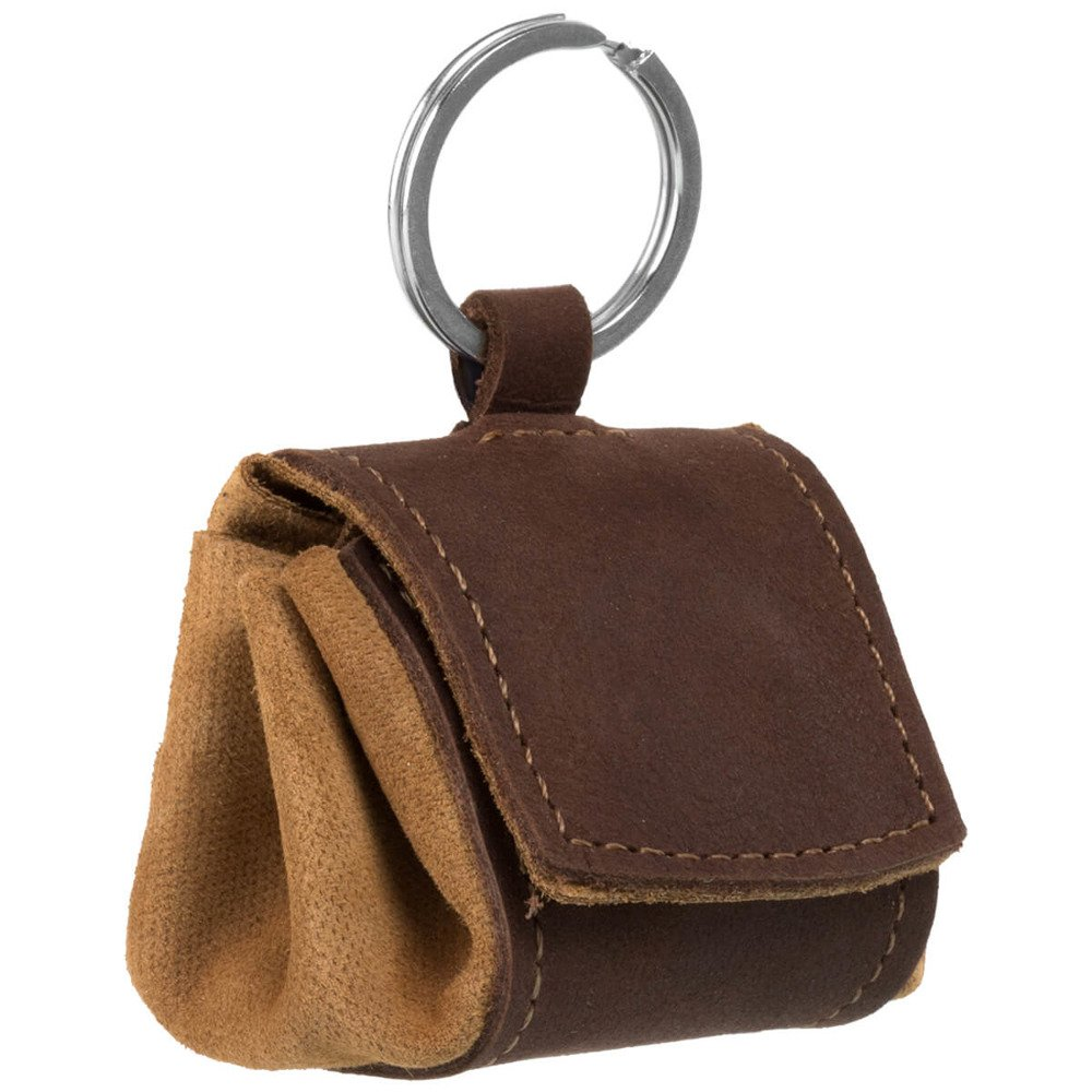 Coin Pouch - Nubuck Nut brown