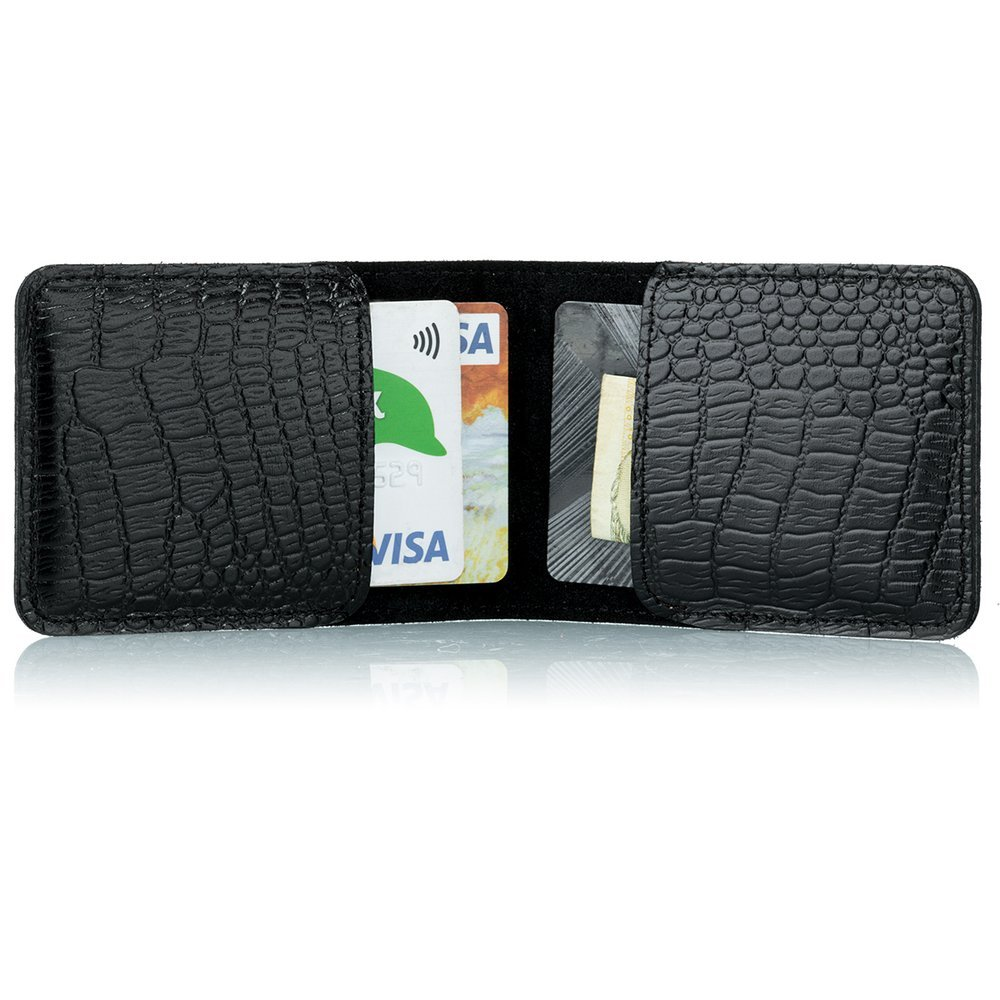Etui for cards and business cards - Cayme Black
