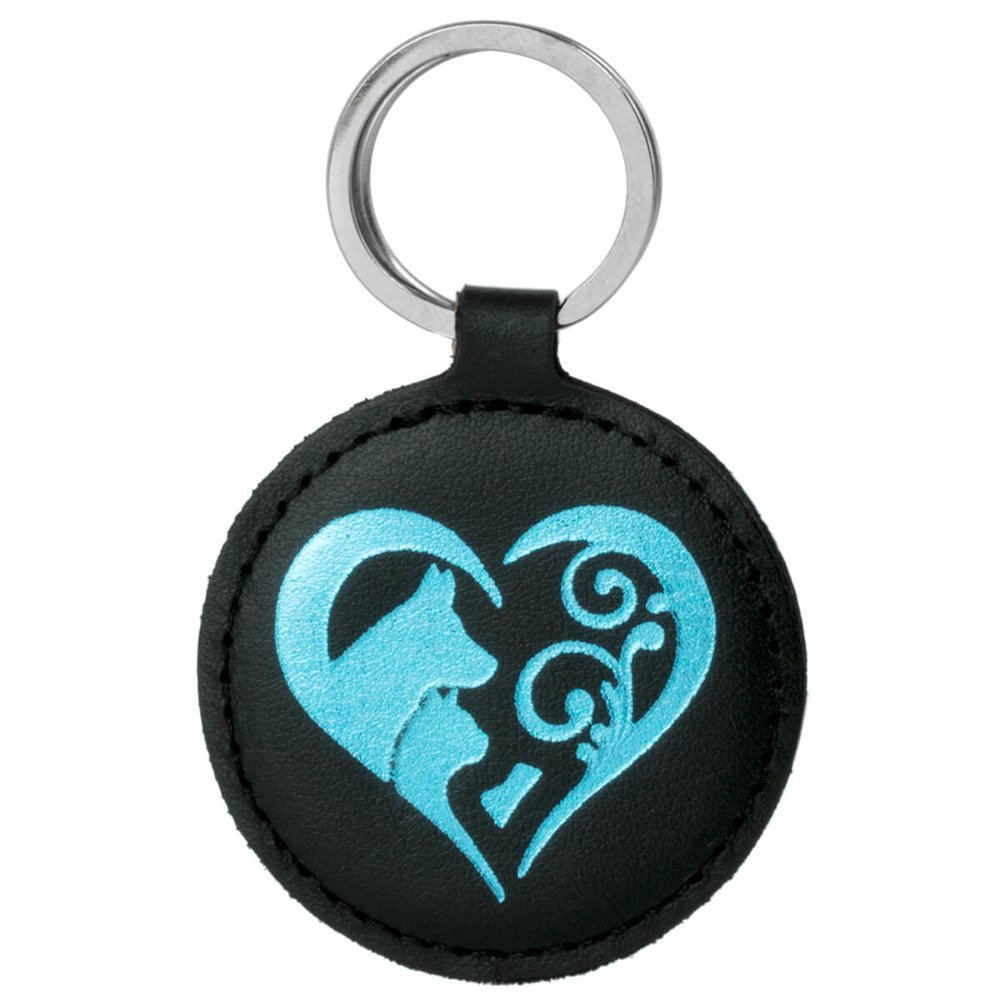 Keychain - Costa Black - Animal Love Turquoise