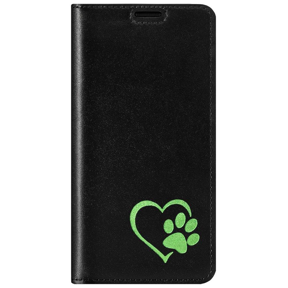 Smart magnet RFID - Costa Black - Green Paw in Heart