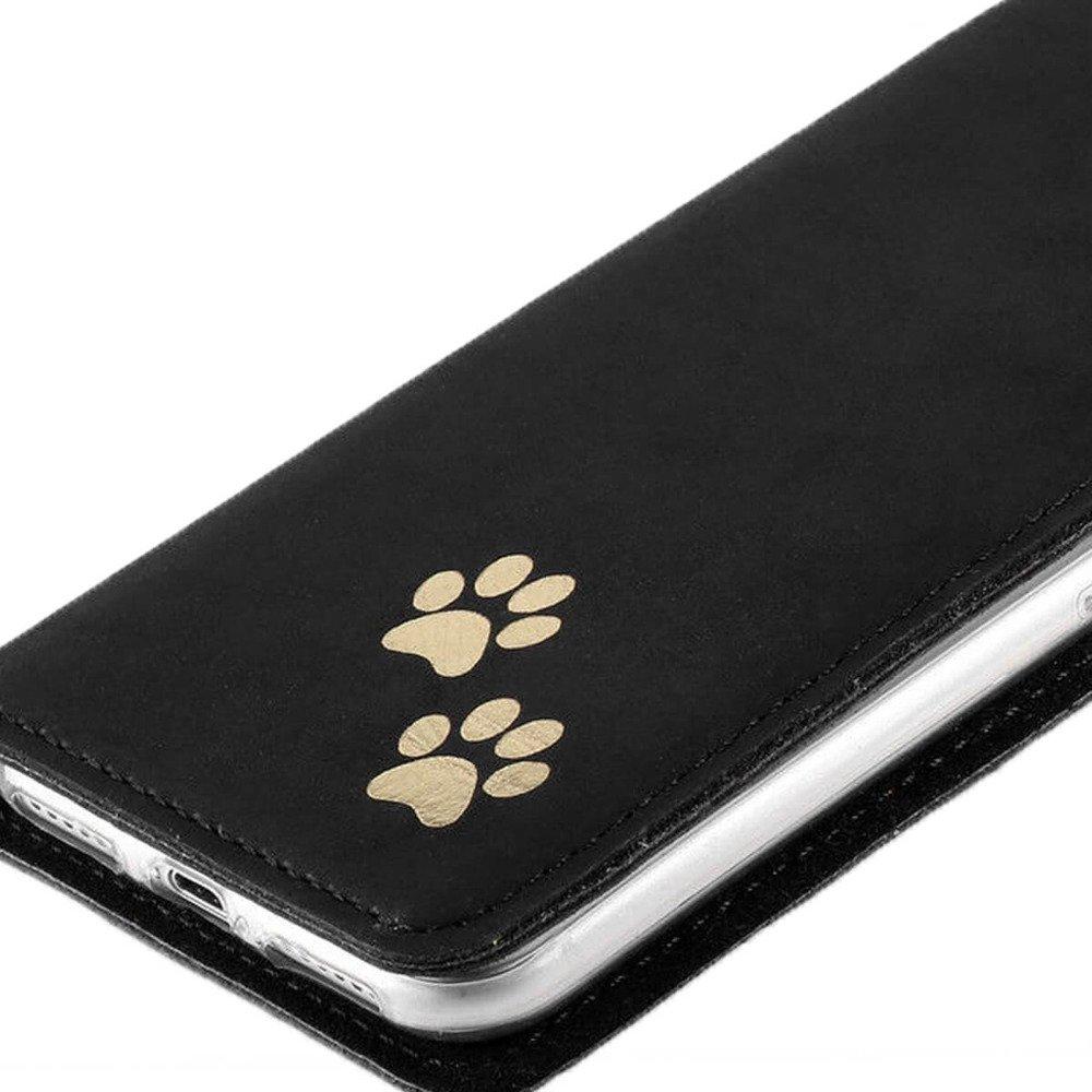 Smart magnet RFID - Nubuck Black - Two paws