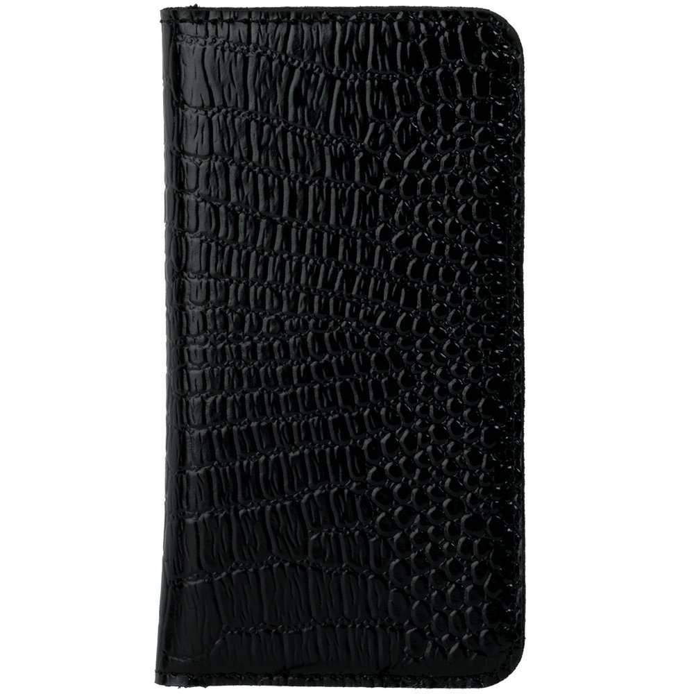 Vertical case for cards, documents and business cards - Cayme Black