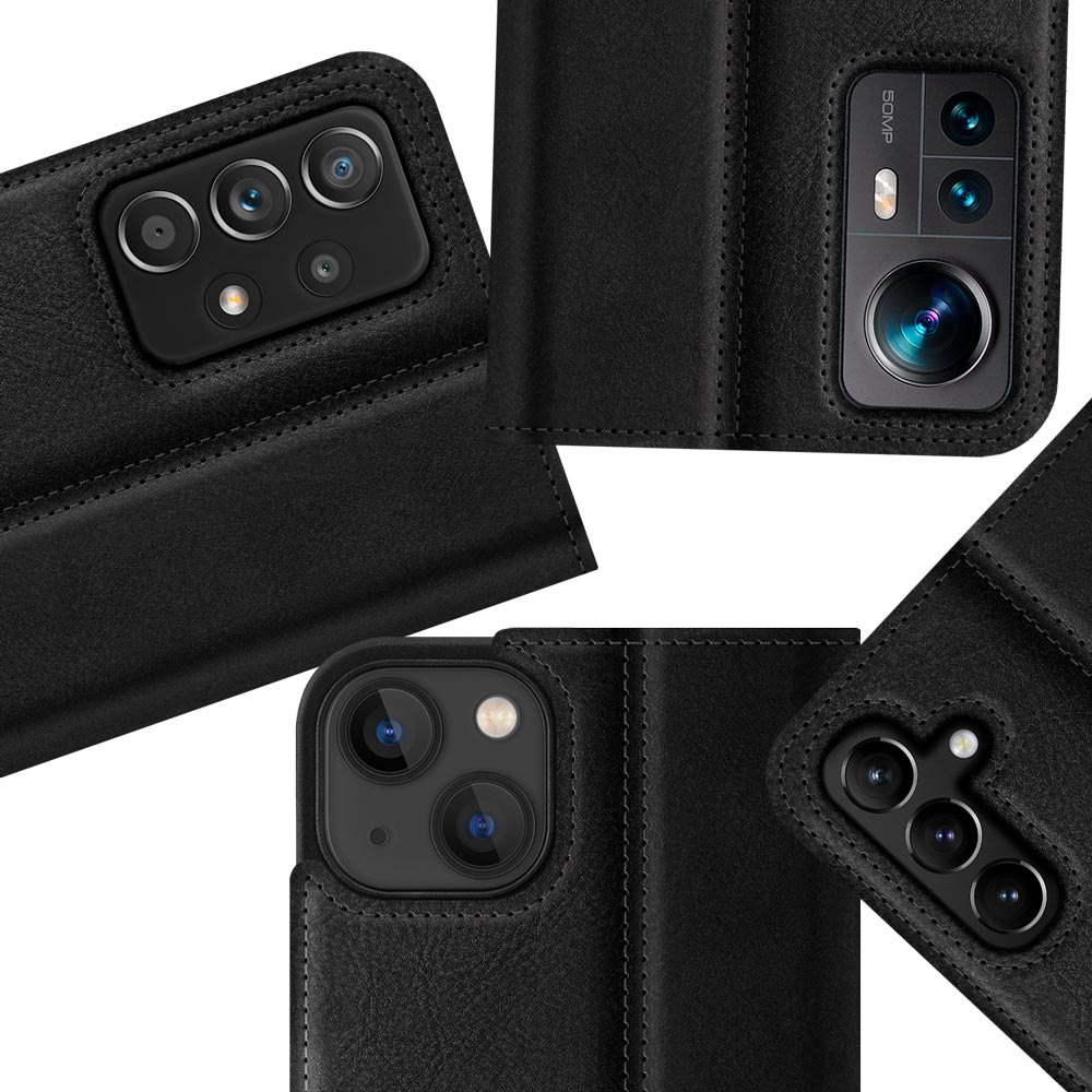 Wallet case Duo - Black and Gray