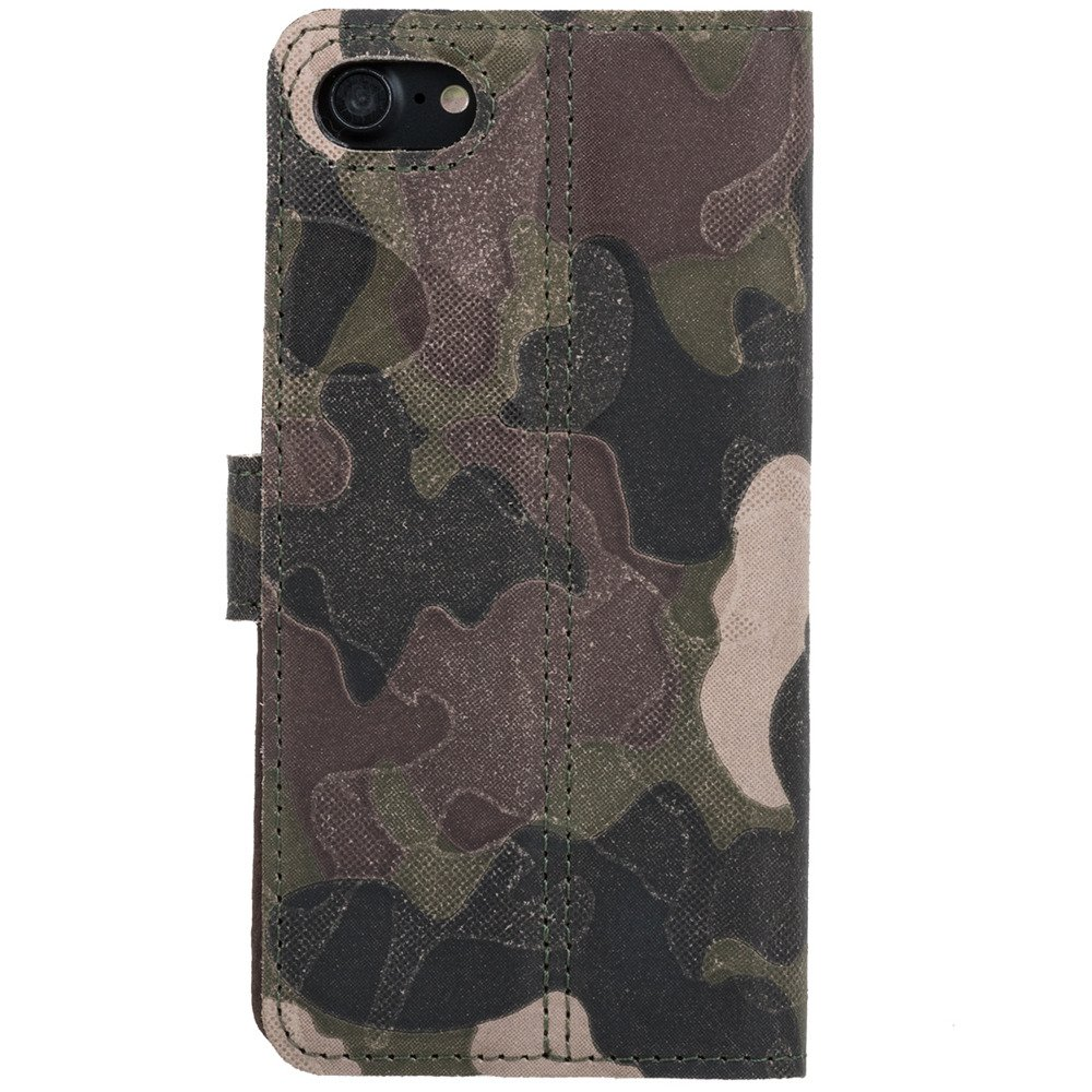Wallet case - Military Camouflage Green