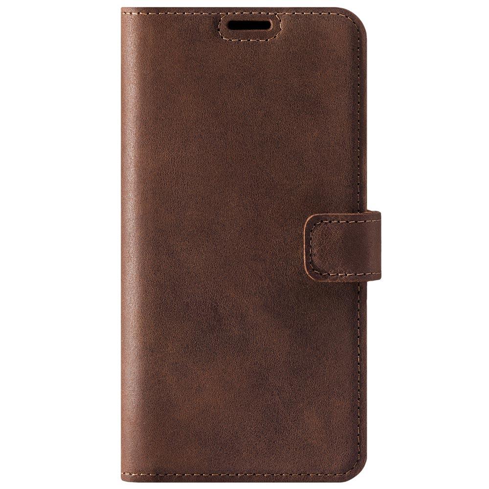 Wallet case - Nubuck Nut brown