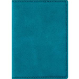 Passport case with card slot - Nubuk Green