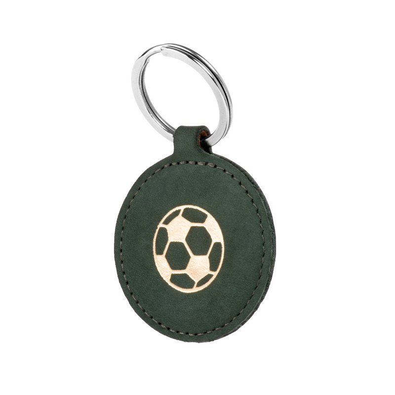 Smart magnet RFID - Nubuk Ciemny zielony- Piłka nożna