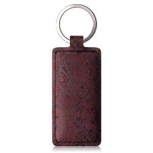 Brelok na klucze - Ornament Burgund